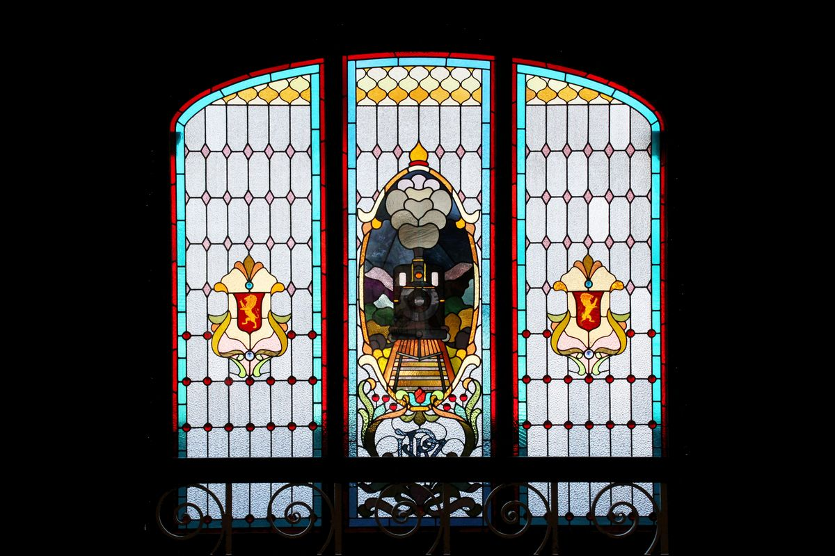 Dunedin Railway Station Window