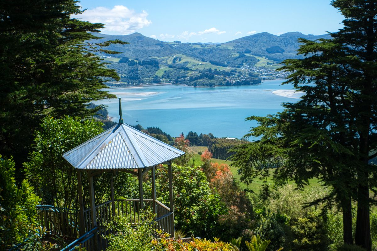 South Sea Gardens at Larnach Castle